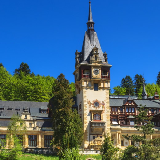 Royal Sinaia treasure hunt