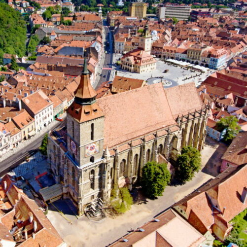 Self-guided tour in Brasov